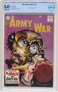 Silver Age (1956-1969):War, Our Army at War #81 (DC, 1959) CBCS VG/FN 5.0 Off-white to white pages....