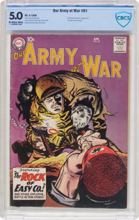 Our Army at War #81 (DC, 1959) CBCS VG/FN 5.0 Off-white to white pages