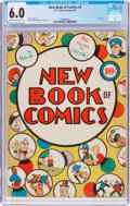 Golden Age (1938-1955):Humor, New Book of Comics #2 (DC, 1938) CGC FN 6.0 Cream to off-white pages....