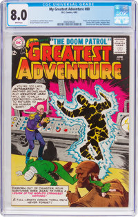 My Greatest Adventure #80 (DC, 1963) CGC VF 8.0 White pages