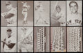 Baseball Cards:Lots, 1947-66 Exhibits Baseball Collection (78) - Including Mantle &Yankees Team Cards. ...