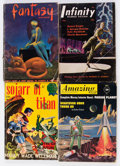 Pulps:Science Fiction, Assorted Science Fiction Digest Pulps Box Lot (Various, 1948-75)Condition: Average VG....
