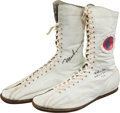 Boxing Collectibles:Memorabilia, 1973 Muhammad Ali Fight Worn & Signed Shoes from Ken Norton I Bout--The Broken Jaw Fight!...