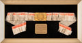 Boxing Collectibles:Memorabilia, 1948 Rocky Marciano New England Golden Gloves Tournament of Champions Belt....