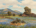 Paintings, Robert William Wood (American, 1889-1979). Springtime in Texas. Oil on canvas. 28 x 36 inches (71.1 x 91.4 cm). Signed l...