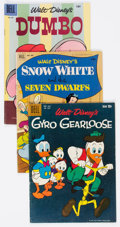 Golden Age (1938-1955):Humor, Four Color Walt Disney Humor Group of 19 (Dell, 1952-62) Condition: Average VG.... (Total: 19 Comic Books)
