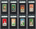 Baseball Cards:Lots, 1909-11 E90-1 American Caramel SGC-Graded Collection (14) - With 8Hall of Famers...