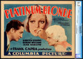 Movie Posters:Drama, Platinum Blonde (Columbia, 1931). CGC Graded Title...