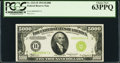 Small Size:Federal Reserve Notes, Fr. 2221-B $5,000 1934 Federal Reserve Note. PCGS Choice New63PPQ.. ...