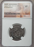 Ancients:Roman Provincial , Ancients: EGYPT. Alexandria. Lucius Verus (AD 161-169). BItetradrachm. NGC VF....