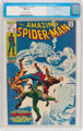 The Amazing Spider-Man #74 Massachusetts Pedigree (Marvel, 1969) CGC NM 9.4 Off-white to white pages