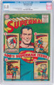 Superman #100 (DC, 1955) CGC VG/FN 5.0 Off-white pages