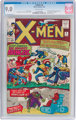 X-Men #9 (Marvel, 1965) CGC VF/NM 9.0 Off-white pages