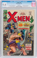 X-Men #38 (Marvel, 1967) CGC NM 9.4 White pages