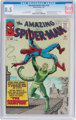 The Amazing Spider-Man #20 (Marvel, 1965) CGC VF+ 8.5 White pages