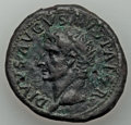 Ancients:Roman Imperial, Ancients: Divus Augustus (after 14 AD). AE as (11.32 gm). VF,smoothing, porosity....