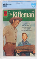Silver Age (1956-1969):Western, The Rifleman #10 (Dell, 1962) CBCS FN+ 6.5 Off-white to whitepages....