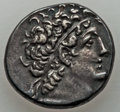 Ancients:Greek, Ancients: PTOLEMAIC EGYPT. Cleopatra IV and Ptolemy XI Alexander(107/6-101 BC). AR tetradrachm (14.01 gm).About XF....