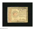 Colonial Notes:Continental Congress Issues, Continental Currency January 14, 1779 $20 Choice Very Fine. This note from the final Continental issue is nicely signed and ...
