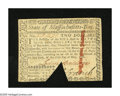Colonial Notes:Massachusetts, Massachusetts May 5, 1780 $2 About New, COC. A center fold is foundon this example from a series that almost always comes c...