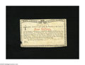 Colonial Notes:New York, New York January 6, 1776 (Water Works) 4s New. This is anattractive scarce note that has a small piece out of the lowerlef...