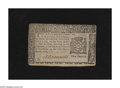 Colonial Notes:New York, New York March 5, 1776 $1 About New. A center fold is found on this scarce note that reveals five adhesive spots from an old...