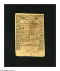 Colonial Notes:Rhode Island, Rhode Island May 1786 6s About New. A center fold and anapproximate half inch internal tear are noticed on this note....