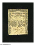 Colonial Notes:Vermont, Vermont February 1781 2s6d Very Fine....