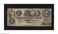 Canadian Currency: , Toronto, ONT- International Bank $2 Sep. 15, 1858 Charlton380-10-06-10. This is the variety with the Markell signature and...