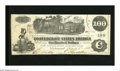 Confederate Notes:1862 Issues, T39 $100 1862. A couple of broad corner folds are found in the samecorner of this C-note. Extremely Fine-About Uncirculat...