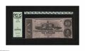 Confederate Notes:1862 Issues, T52 $10 1862. This colorful note is graded New 62PPQ by PCGS....