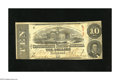 Confederate Notes:1863 Issues, T59 $10 1863. This is a crispy note from the 1st Series. Fine-VeryFine....