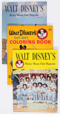 Magazines:Miscellaneous, Walt Disney's Mickey Mouse Club Magazine Group of 30 (Western, 1956-77) Condition: Average VG.... (Total: 30 Comic Books)