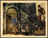 "The Adventures of Robin Hood (Warner Brothers, 1938). Linen Finish Lobby Card (11"" X 14"")"