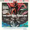 "Movie Posters:James Bond, The Spy Who Loved Me (United Artists, 1977). International SixSheet (77"" X 79"") Bob Peak Artwork.. ..."