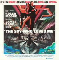 "The Spy Who Loved Me (United Artists, 1977). International Six Sheet (77"" X 79"") Bob Peak Artwork"