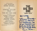 "Movie Posters:War, The Big Red One (Bantam Books, 1980). Inscribed Paperback Edition(432 Pages, 4"" X 7"").. ..."