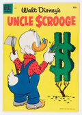 Golden Age (1938-1955):Cartoon Character, Uncle Scrooge #9 (Dell, 1955) Condition: FN/VF....