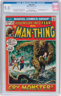 Bronze Age (1970-1979):Horror, Fear #10 (Marvel, 1972) CGC VF/NM 9.0 Off-white to white pages....