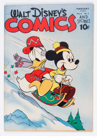 Walt Disney's Comics and Stories #41 (Dell, 1944) Condition: FN/VF