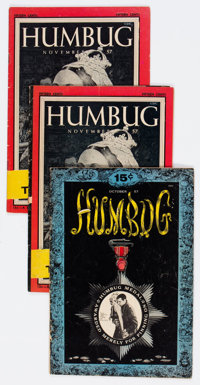 Humbug Group of 5 - Bill Elder File Copies (Humbug, 1957-58) Condition: Average GD/VG.... (Total: 5 Comic Books)