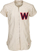 Baseball Collectibles:Uniforms, 1954 Eddie Yost Game Worn Washington Senators Jersey....