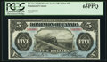 Canadian Currency, DC-21c $5 1912. ...