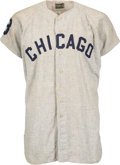 Baseball Collectibles:Uniforms, 1963 Frank Baumann Game Worn Chicago White Sox Jersey....