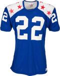 Football Collectibles:Uniforms, Early 1970's Barry Smith Game Worn College All Stars Jersey....