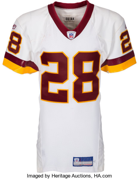 online store ca603 075a4 2002 Darrell Green Game Worn & Signed Washington Redskins ...