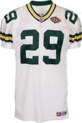Football Collectibles:Uniforms, 1998 Anthony Fogle Game Worn Super Bowl XXXII Jersey....