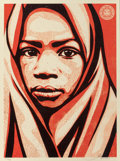 Fine Art - Work on Paper:Print, Shepard Fairey X L.E.A.D. Uganda. Blanket, 2009. Screenprintin colors on paper. 24 x 18 inches (61.0 x 45.7 cm) (sheet)...