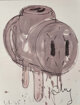 Claes Oldenburg (b. 1929) Sketch of a 3-Way Plug (1965), 1972 Offset lithograph in colors on paper 31-7/8 x 24-1/4 in