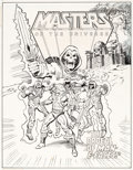 Original Comic Art:Covers, Mark Texeira Masters of the Universe